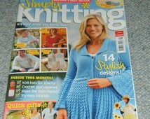 Simply Knitting magazine issue 45