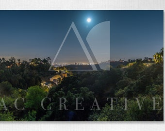 Hollywood Hills   Photography Print   Wall Art   Landscape Photography   California