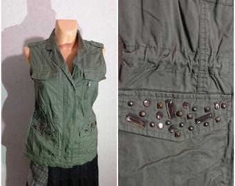 Vest #Zipper Lock #Medium Size