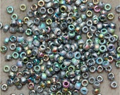CZECH Seed Beads, Etched Crystal Vitrail, 00030/28180, size 8, sold in units of approx 20 grams