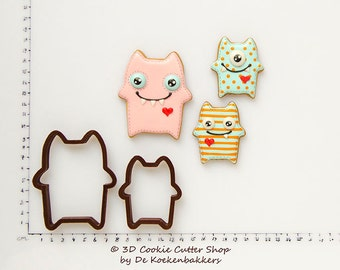 Monster Cookie Cutter Set