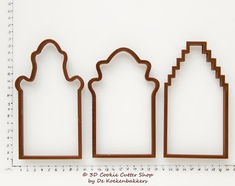 Canal Houses Cookie Cutter Set