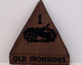 Vintage Old Ironsides Embroidered Patch