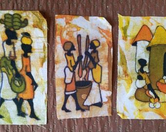 African Wax Batiq Set