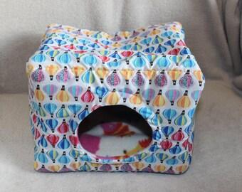 Custom made to order small animal bed / cube (hedgehog, rat, degu)