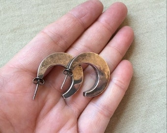 Sterling Hoop Earrings -- 241