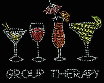 Group Therapy Rhinestone T-Shirt