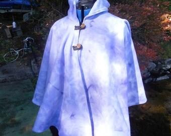 Marble fleece cloak