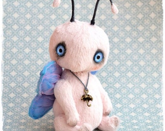 Butterfly author teddy  toy