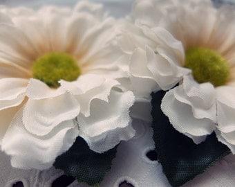 Spring hair flower & brooch