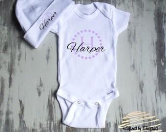 Baby Boy Onesie, Newborn onesie set, Personalized Onesie, Baby shower gift, Elephant Onesie, baby girl onese