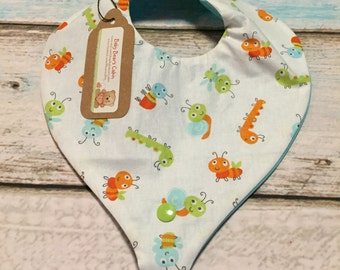Cute as a Bug Paci/Teether Bib