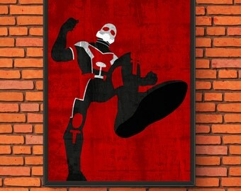 Marvel Minimalism: Giant Man Print