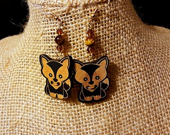 Autumn Fox Earrings