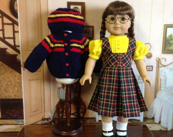 American Girl 1950's Jumper and Sweater Set