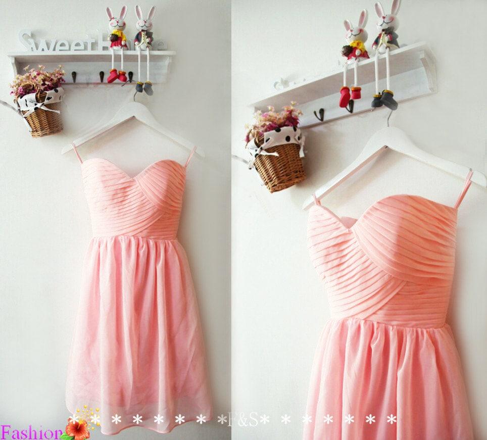 Short pink bridesmaid dressinexpensive bridesmaid dressblush zoom ombrellifo Images