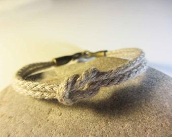 human knot flat bracelet