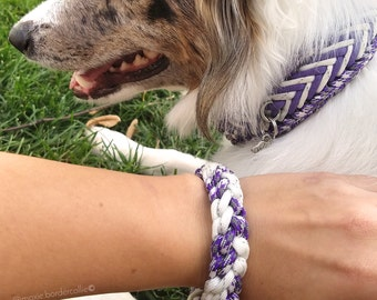 Best Friendship Bracelet add-on, Dog Collar friendship bracelet, Paracord Bracelet, Furendship Bracelet, BRACELET ONLY