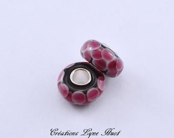 Murano glass beads charm Européan style !