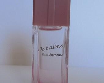 Miniature perfume JE T'AIME EVAFLOR supreme water