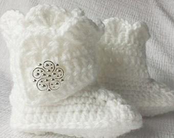 Baby Bootie, Crochet
