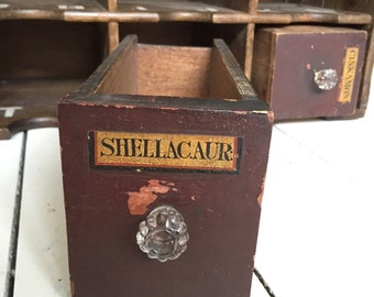Antique Apothecary Drawers