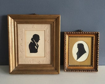 Antique Silhouette Frames