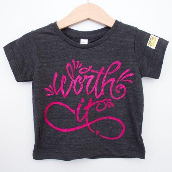 Infant tri blend black // American Apparel brand // Worth it