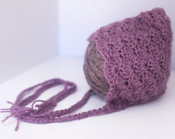 Purple Shell Bonnet