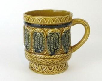 vintage Japanese stoneware cup
