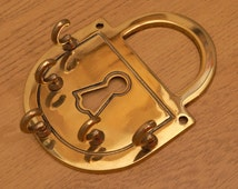Unused Key Holder || vintage solid brass ||  5+ keys