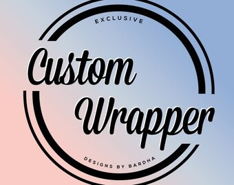 Custom Personalized Candy Bar Wrapper for Hershey Bars - You Print