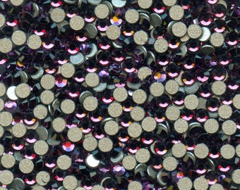 2028 PP19 A*** 40 Swarovski rhinestones flat back SS16(3,9mm) amethyst