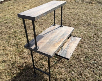 Chic Reclaimed Wood Office Desk mcm console table 280 the gadget flow Reclaimed Wood Desk Computer Desk Home Office Desk Barn Wood Desk Shabby