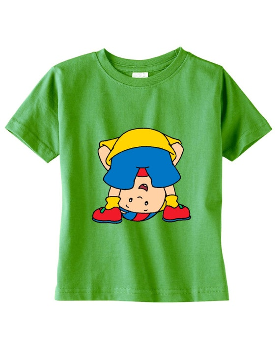 caillou custom t shirt different colors