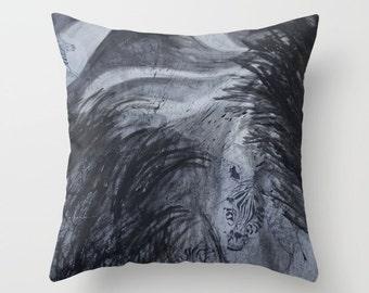 Zebra Journey Pillow