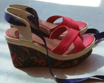 Compensated heels - Platform shoes / / Size UK 6 / US 7.5 / size 39