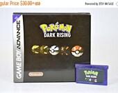 BLACK WEEKEND SALE Pokemon Dark Rising for Gameboy Advance