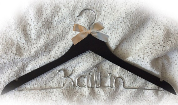 Kailtin hanger,wedding hanger,Personalized Hanger,Custom hanger,wire name hanger,Bridesmaids hanger,bride hanger