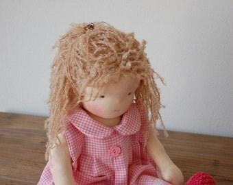 Waldorf doll, Steiner doll, 15 inch