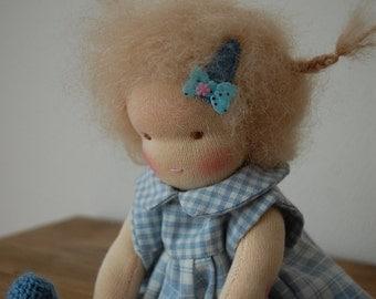 Waldorf doll, steiner doll, 9inch doll