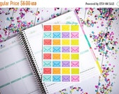 MOST EPIC SALE Envelopes Fun-ctional Stickers! Set of 32 large stickers, perfect for your Erin Condren Life Planner, calendar, Filoflax, Plu