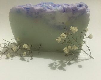 Berry scented handcrafted soap