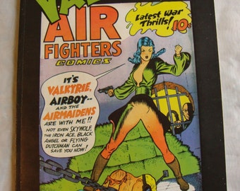 Fred Kida's VALKYRIE! Air Fighters Comics Airboy 1982 1st Ed Collection NM