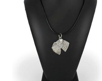 Schnauzer new, dog necklace, limited edition, ArtDog
