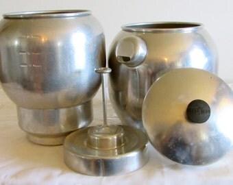 Kwik Drip Coffee Maker, Large Capacity Aluminum Coffee Maker, Atomic Drip Coffee Maker, Made in the USA, Aluminum Coffee Pot