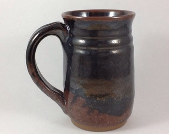 Extra Large Mug, Pottery Coffee Mug, 24 ounce Stoneware Mug, Beer Mug, Office Mug, Handmade Mug
