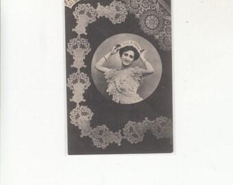 C1905 Undivided Back Antique Postcard-Types Of Lace-Les Dentelles-Pont De Venise