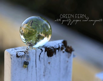 Incredible Green Fern Orb