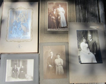 Antique Photographs Great For Projects, Display